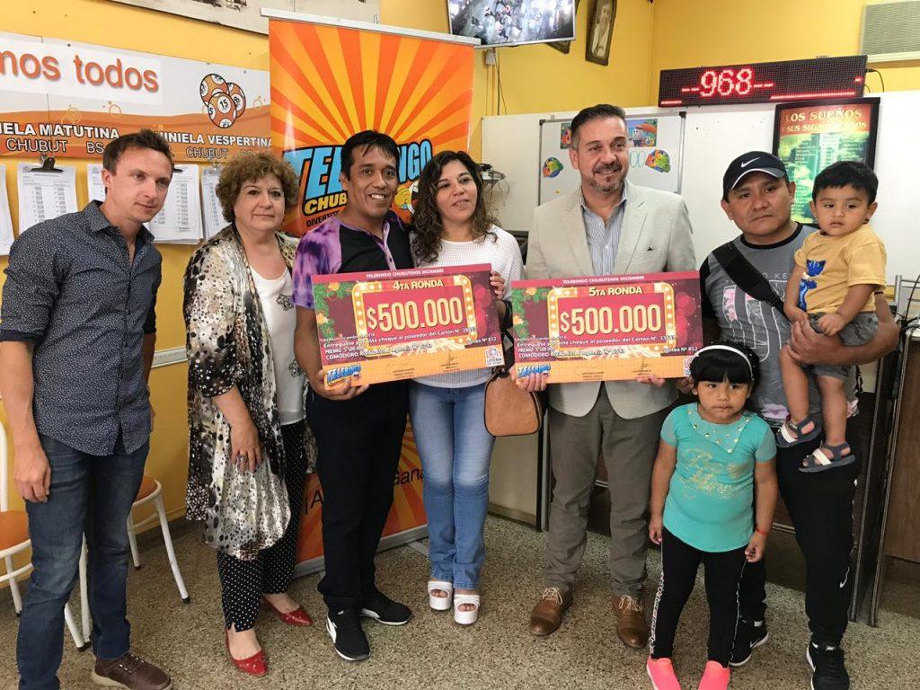 Entrega familias ganandoras en Agencia 6013