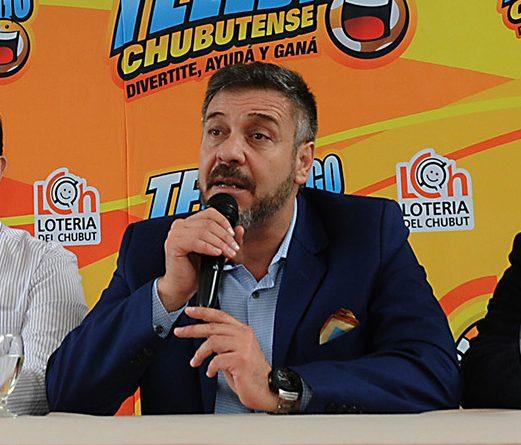 Carlos Barbato presidente de Lotería