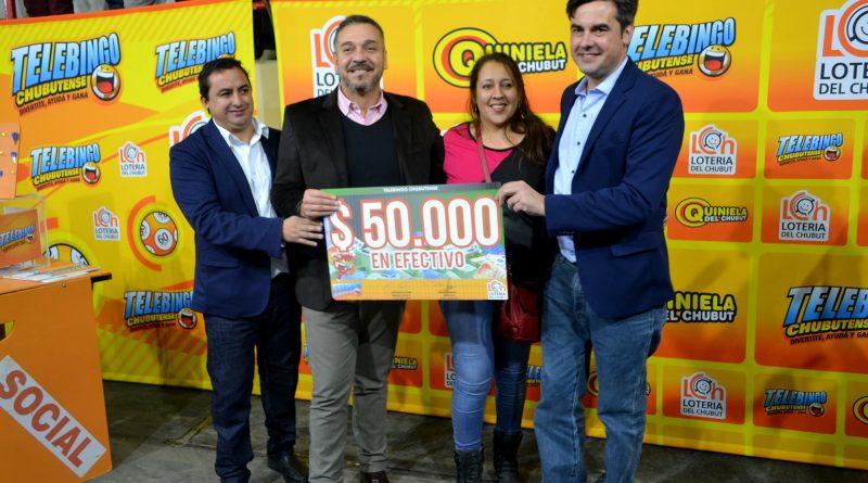 Ganadora de los $50.000 de la Caja de Cristal